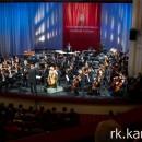Симфонический оркестр Мариинского театра на сцене Музыкального театра Карелии. Фото: Виталий Голубев
