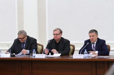 Представители Фонда реформирования ЖКХ в Карелии. Фото: Виталий Голубев